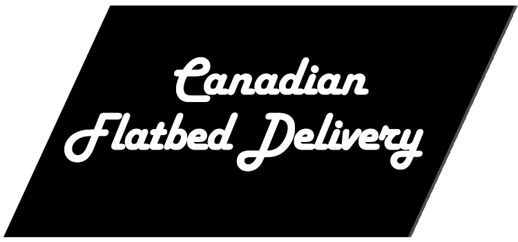 Canadian Flatbed Delivery